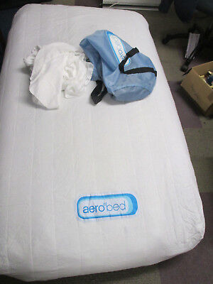 Aerobed Single Bed with Pump & Travel Case (Pick up & save P & P)