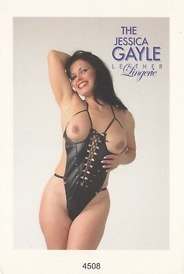 Jessica Gayle Leather Lingery 4508 One Size Fits All