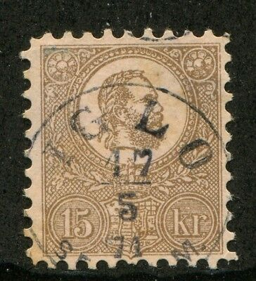 HUNGARY rare EARLY FAKE old Forgery STAMP FORGERIE # 55311
