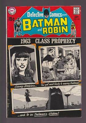 Detective Comics # 391 Gal Most Likely to be Batman's Widow ! grade 8.0 scarce !