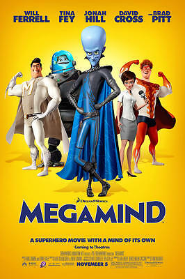 35mm MEGAMIND TRAILER/FILM/MOVIE/FLAT/TEASER/BANDE. DISNEY PIXAR