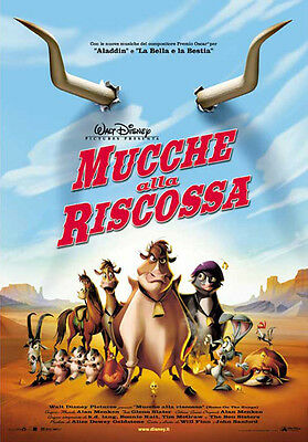 35mm HOME ON THE RUN (mucche alla riscossa) TRAILER/FILM/MOVIE/FLAT/TEASER/BANDE