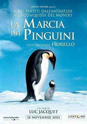 35mm LA MARCIA DEI PINGUINI TRAILER/FILM/MOVIE/FLAT/TEASER/BANDE.