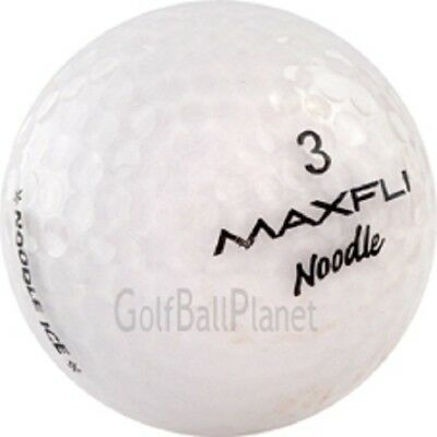 60 Near MINT White Crystal Style Used Golf Balls