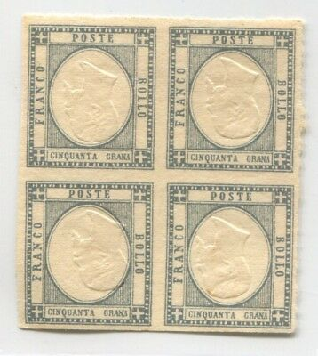 ITALY old rare EARLY FAKE Forgery STAMP FORGERIE INVERTED CENTER VALUE # 45596