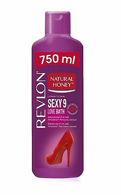Natural Honey Sexy 9 Love Bath Gel Baño Ducha Body Wash 750 ml 25 oz