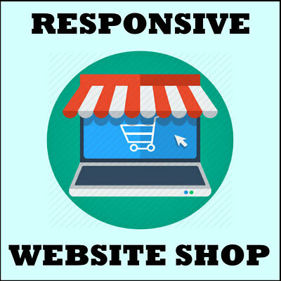 Responsive Website Shop & Hosting for 3 Year