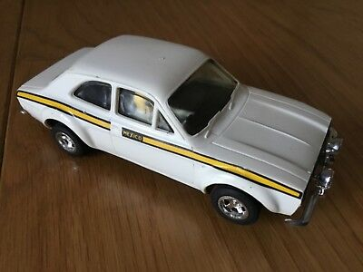 Scalextric C52 Ford Escort Mexico White Very Good Unboxed