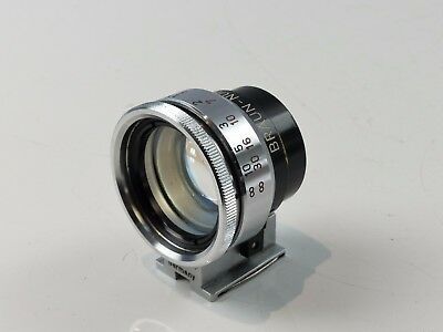 Large Braun Multi Viewfinder For 35Mm 50Mm 85Mm &135Mm Lenses Rare