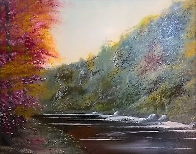 """Original landscape Oil Painting on canvas 24""""x20"""" from artist Kevin Richards"""