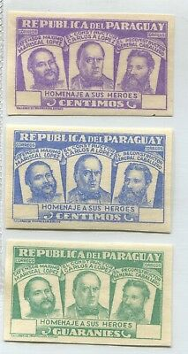 Paraguay  Rare Essay Proof Without Value Stamps