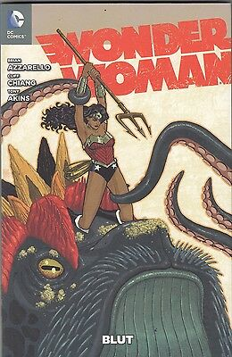 WONDER WOMAN # 1 VARIANT - DAS NEUE DC-UNIVERSUM - 222 Ex. - COMIC ACTION 2012