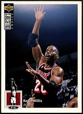 Kevin Willis #264 Collector's Choice 1994-5 Upper Deck Basketball Card (C502)
