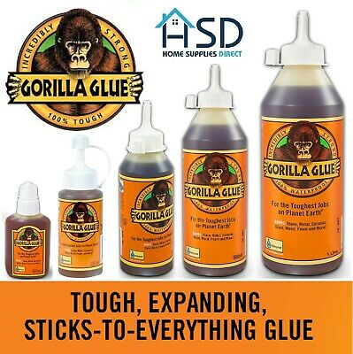 Gorilla Glue Super Strong Epoxy Waterproof Multi Purpose Adhesive Wood Stone NEW