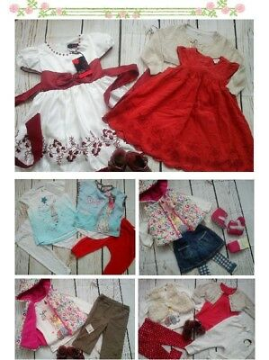 64x MASIVE NEW USED BUNDLE OUTFITS BABY GIRL 9/12 M 12+PHOTOS IN DESCRIPTION(7)