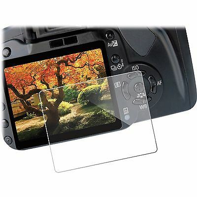 Tempered Glass Screen Protector LCD Guard for Canon EOS 100D Rebel SL1 Kiss7