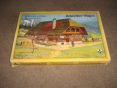Vintage  Brand New And Boxed Schreiber Bogen Vintage Scenery House No 77207