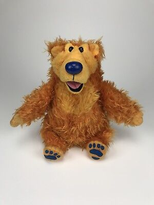 Bear in the Big Blue House Talking Disney Plush Doll Mattel Jim Henson 1999