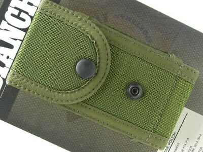 BIANCHI OD Green M1025 Size 1 Double MILITARY MAGAZINE Mag Pouch New! 14929