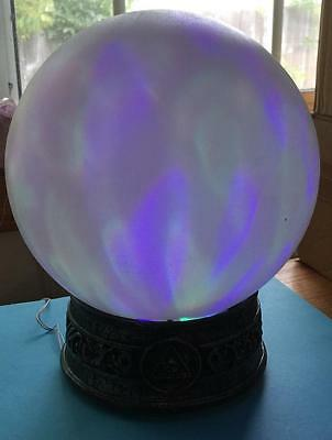 Light Up Witch Magic Ball for Halloween Decor