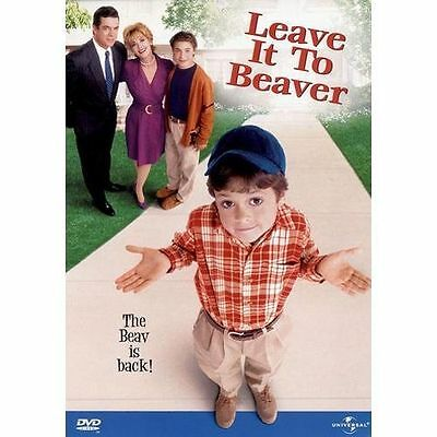 LEAVE IT TO BEAVER - THE MOVIE rare Family dvd CHRISTOPHER MACDONALD '90s NEW