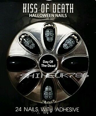 Halloween special Fashion false nails kiss of death PRIMARK 24 nails