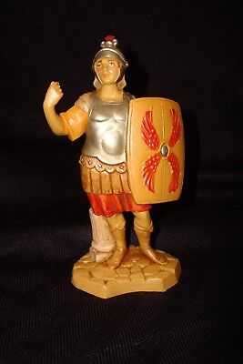 """NWOT Fontanini Nativity By Roman Hand Painted In Italy Roman Soldier 5"""""""