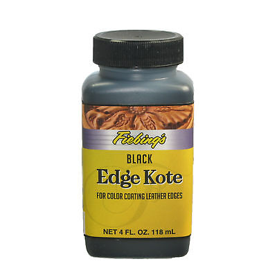 Fiebing's Edge Kote - Black / 4 oz