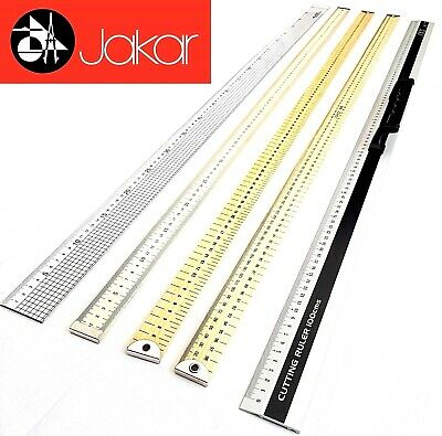 "1 Meter Ruler 100cm 1M 40"" Yard Stick Measure Metal Wooden School Carpenter Rule"