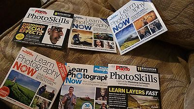 Seven Photography Discs from Various Magazines Photo skills  Photoshop DVD