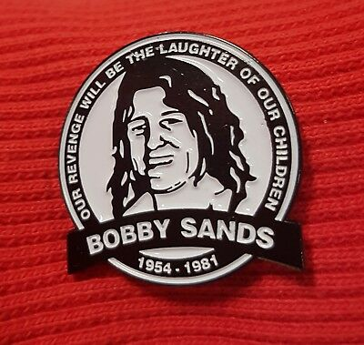 Irish Republican Pin Bobby Sands