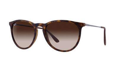 Ray-Ban Women's Erika Gradient RB4171 865/13 54-18 Havana Tortoise Brown Round