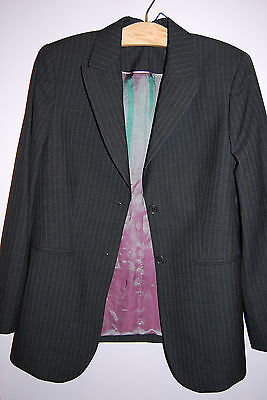 Crave UK Maternity Pinstripe Suit Jacket - XLarge (US) SIze 14