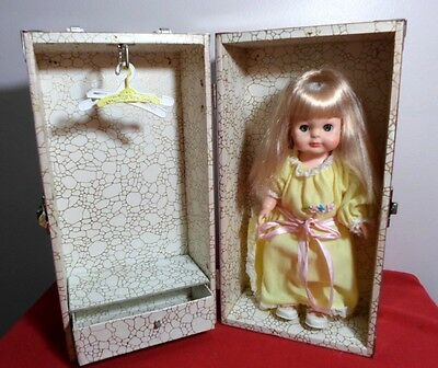 "Nice Vintage Vogue 11"" Littlest Angel Doll W/metal Carrying Case,  Accessories"