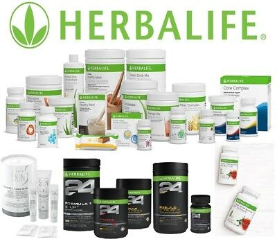 New Herbalife Products Listed (All Flavors) ***FREE SHIPPING***