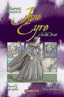 Graphic classics: Jane Eyre by Fiona Macdonald|Charlotte Bront (Paperback)