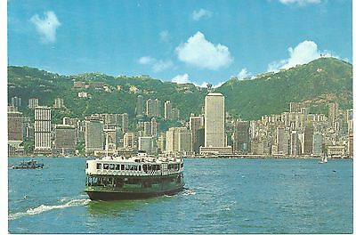Honk Kong Postcard - Grand View of Harbour