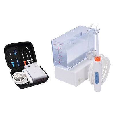 Travel Water Flosser Oral Irrigator Rechargeable and Cordless Portable 100V~240V
