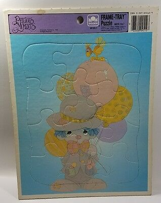 Precious Moments  - Frame Tray Puzzle - Golden