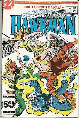 The Shadow War of Hawkman #4 (Aug 1985, DC) #4 of 4