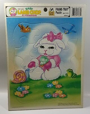 Baby Lamb Chop & Friends  - Frame Tray Puzzle - Golden