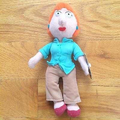 RARE Family Guy Lois Mother Stuffed Plush Doll Toy NWT Nanco Animated Show 8""