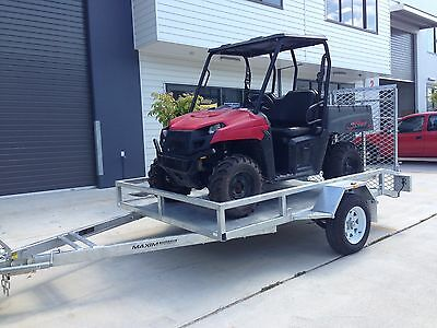 SIDE BY SIDE OFF-ROAD BUGGY TRAILER GALVANISED can Am Maverick Polaris