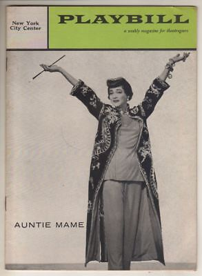 "Sylvia Sidney   ""Auntie Mame""   Playbill   1958   New York City Center  Revival"