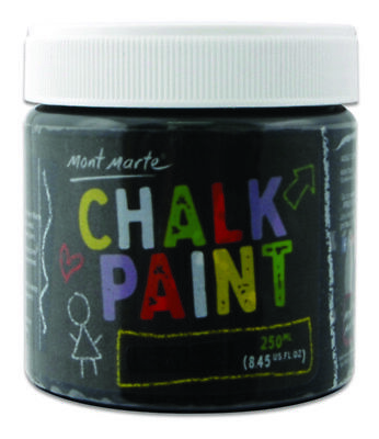 Mont Marte Chalkboard Paint 250ml Pot - Black