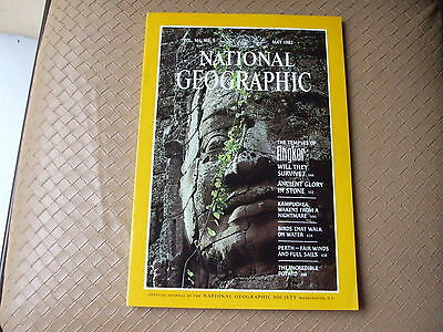 NATIONAL GEOGRAPHIC -  MAY 1982 -  Vol 161  n° 5 (en Anglais)