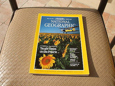 NATIONAL GEOGRAPHIC - MARS 1987 - Vol 171 - n° 3 (en Anglais)