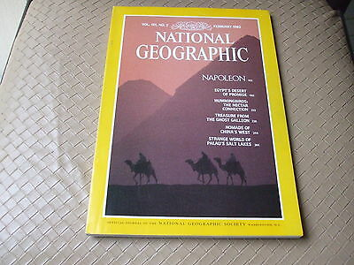 NATIONAL GEOGRAPHIC  - FEBRUARY 1982 - Vol 161  n° 2 (en Anglais)
