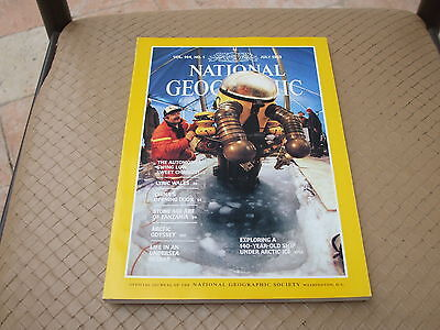NATIONAL GEOGRAPHIC - JULY 1983 - Vol 164 -  n° 1 (en Anglais)