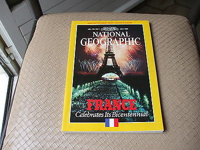 NATIONAL GEOGRAPHIC - July 1989 -  Vol 176 - n° 1 (en Anglais)
